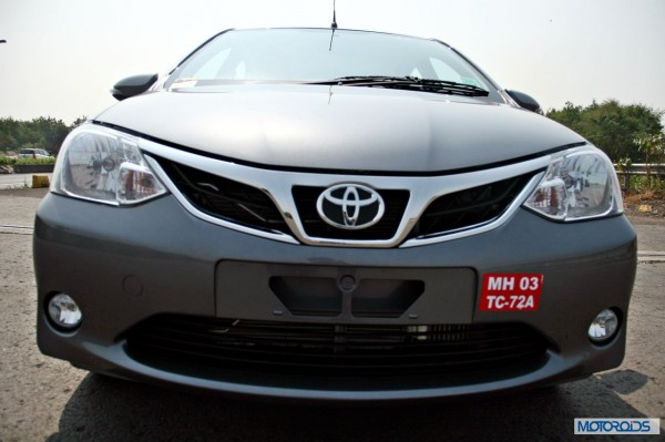 New 2014 Toyota Etios grille chrome