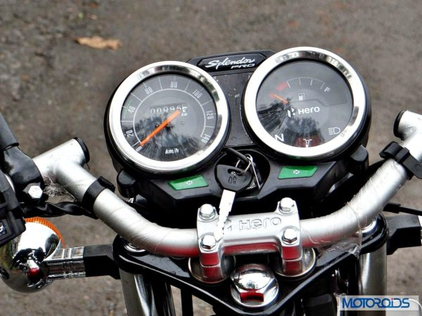 New-Hero-Splendor-Pro-Classic-Review-Instrument-Cluster