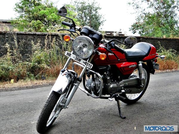 New-Hero-Splendor-Pro-Classic-Review-Left-Three-Quarter