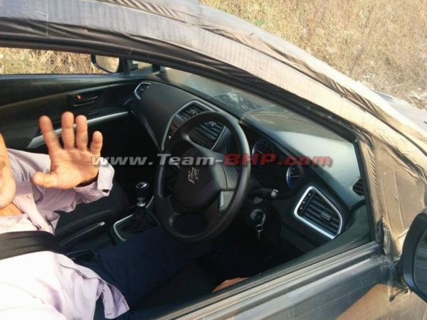 New-Maruti-SX4-S-Cross-interior-spy-images-1