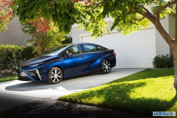 New Toyota Mirai fuel cell car (21)