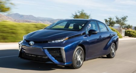 New Toyota Mirai fuel cell car (24)