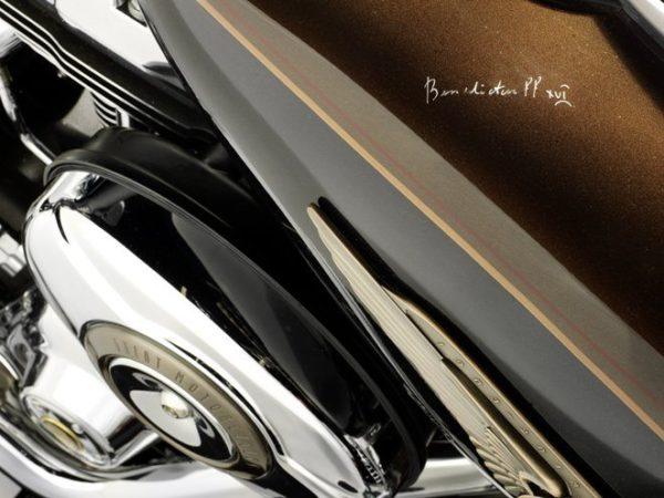 Pope benedict Harley Davidson