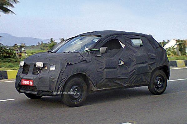 Renault 800cc hatchback crossover