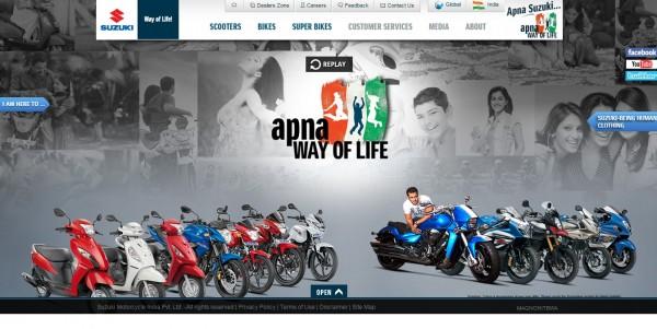 Suzuki-removes-Inazuma-from-India-website
