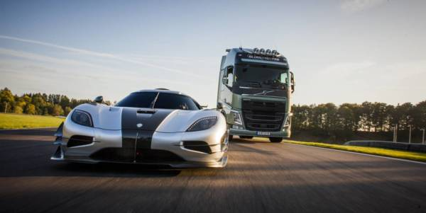 Teaser Volvo FH vs Koenigsegg One1 Race Film (4)