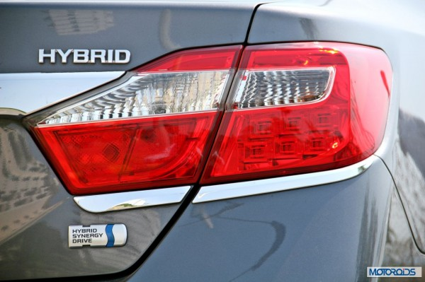 Toyota Camry Hybrid tail-lamp