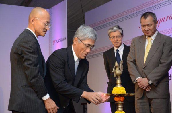 Yokohama India Plant Launch