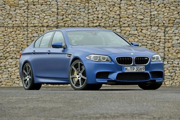 face-lifted BMW M5 (2)