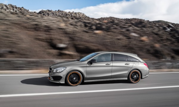 Mercedes-Benz unveils CLA Shooting Brake