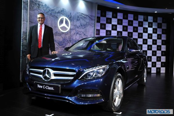 new 2015 Mercedes C-Class India launch (7)