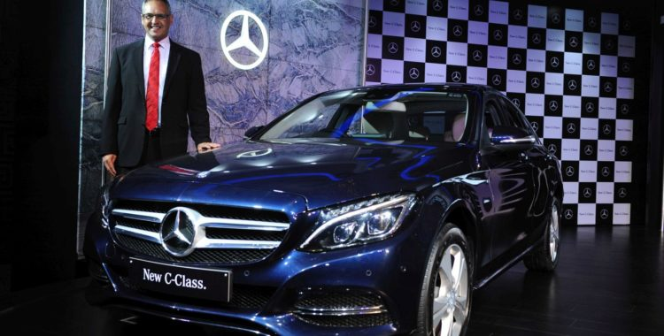 new 2015 mercedes c class launched in india price rs lakh motoroids. Black Bedroom Furniture Sets. Home Design Ideas