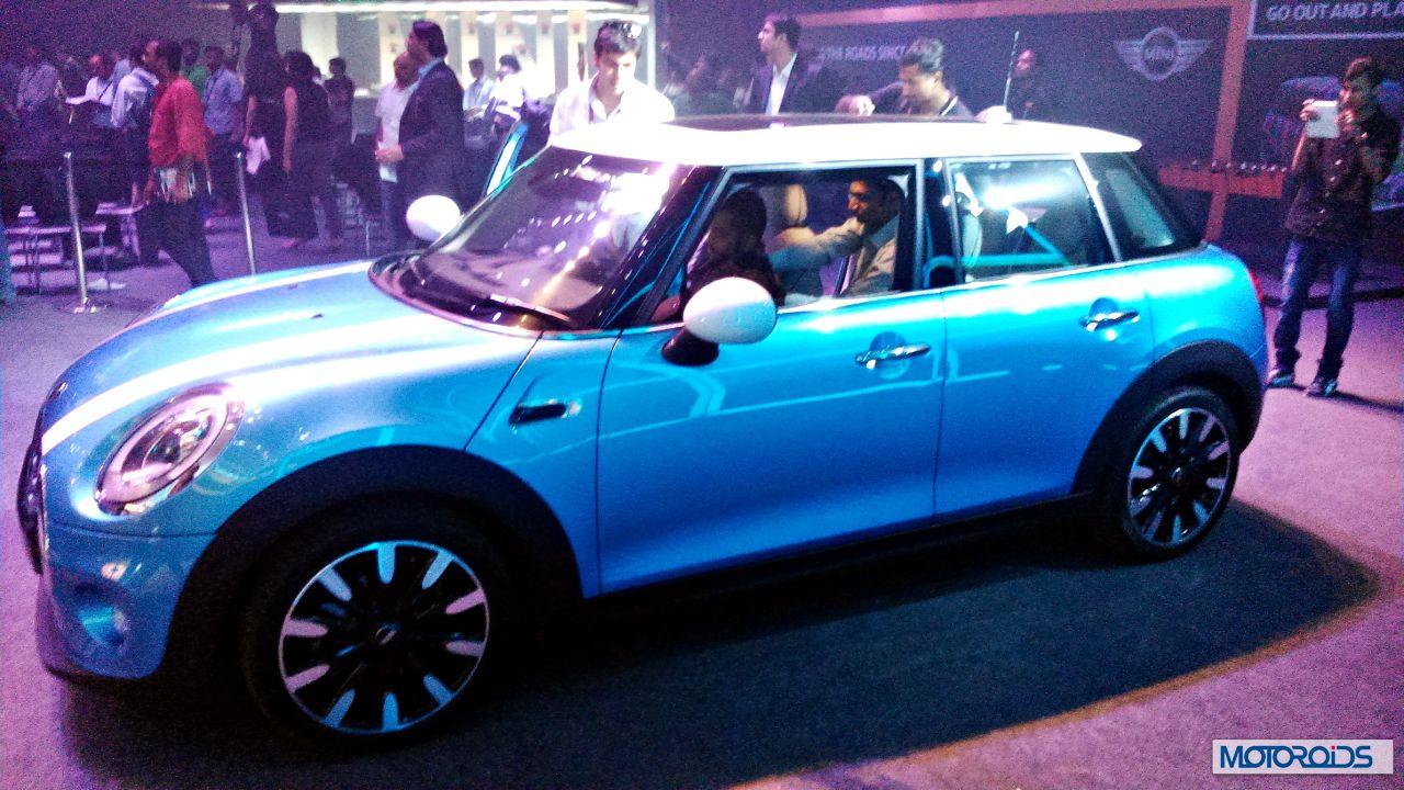 New 2015 Mini India Launch 22 Motoroids Com