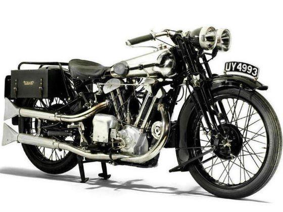 1929 Brough Superior SS100 (1)