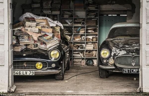 1961 Ferrari 250 GT SWB California Spider and 1956 Maserati A6G Gran Sport Frua