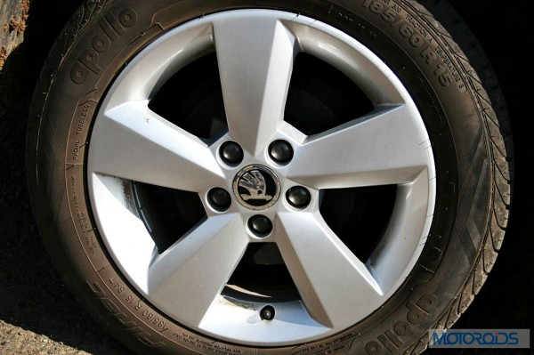2015 Skoda Rapid TDI wheel 15 inch