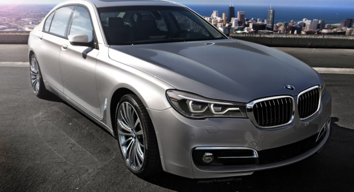 spied 2016 bmw 7 series side profile revealed official debut later this year motoroids. Black Bedroom Furniture Sets. Home Design Ideas