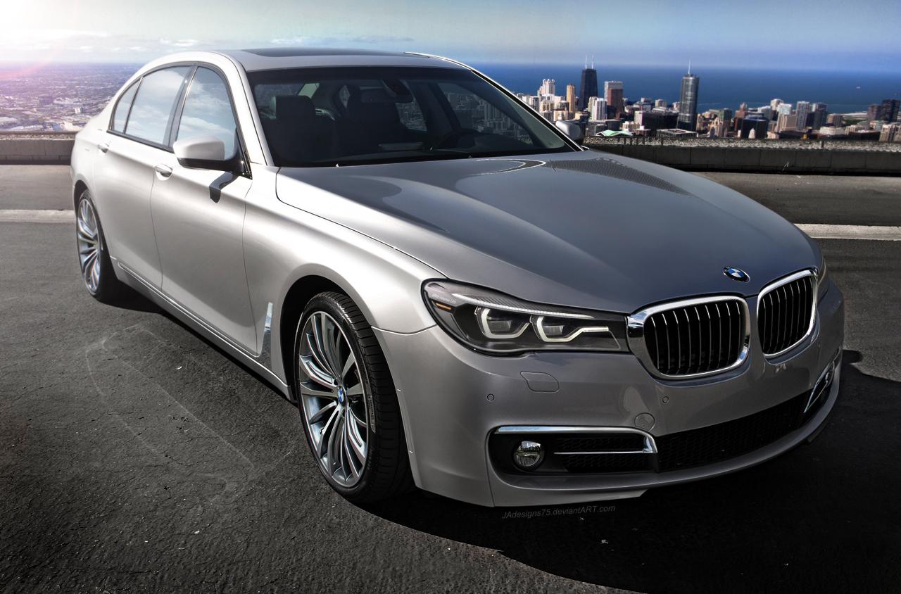 Rendering 2016 BMW 7 Series