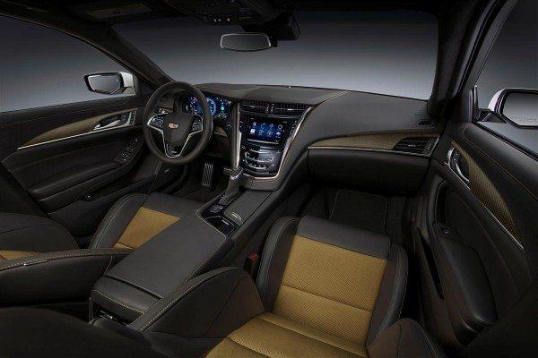 2016 Cadillac CTS V1 Interior