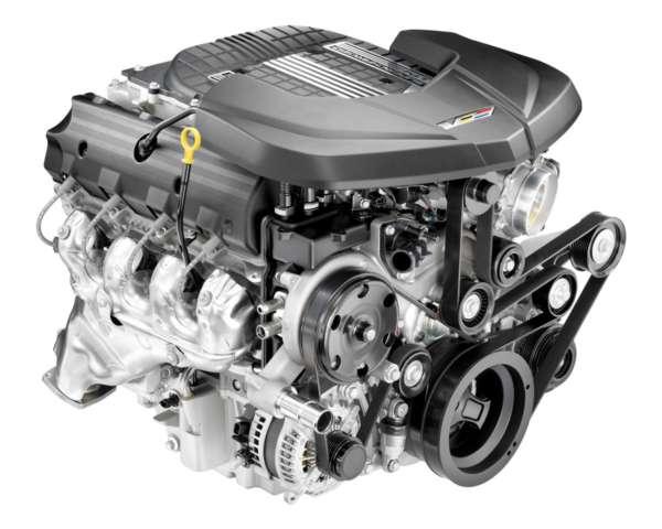 2016 Cadillac CTS V1 Interior engine