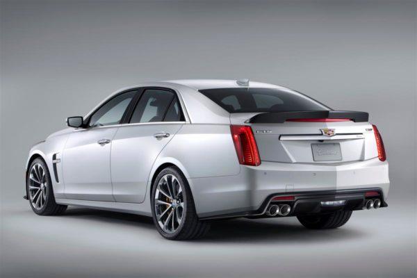 2016 Cadillac CTS V1 rear exhaust