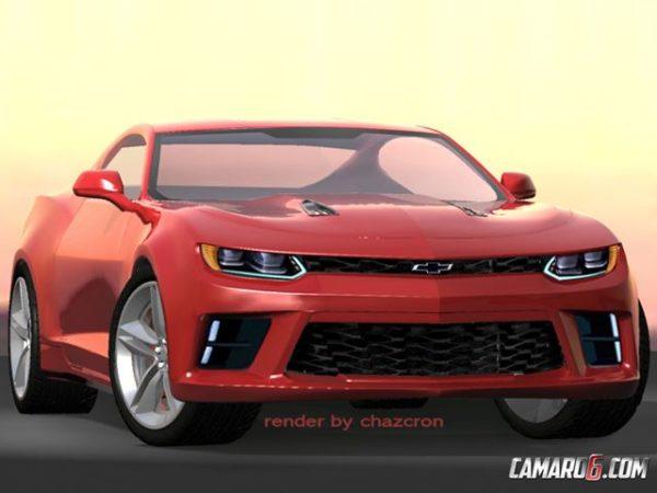 2016 Chevrolet Camaro Render (3)