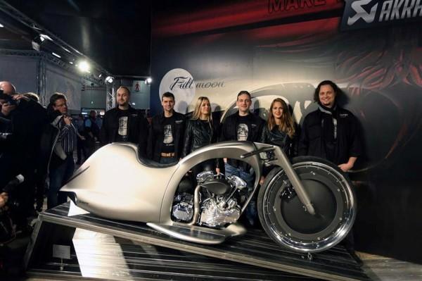 Akrapovic New Full Moon motorcycle