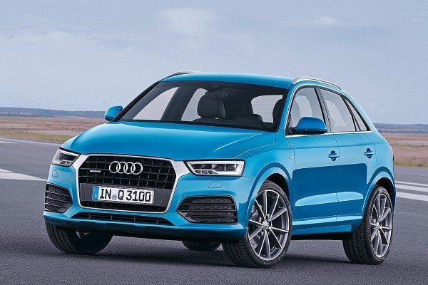 Audi Q3 face-lift