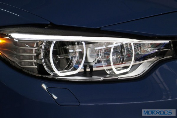 BMW M3 head lamps