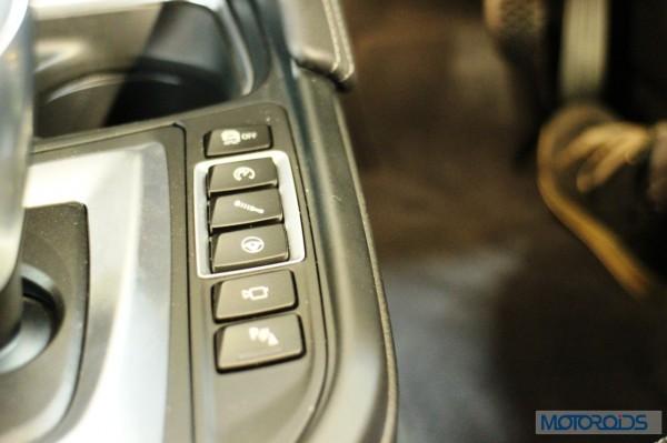 BMW M4 Controls
