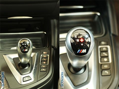 BMW M4 Drive Selctor