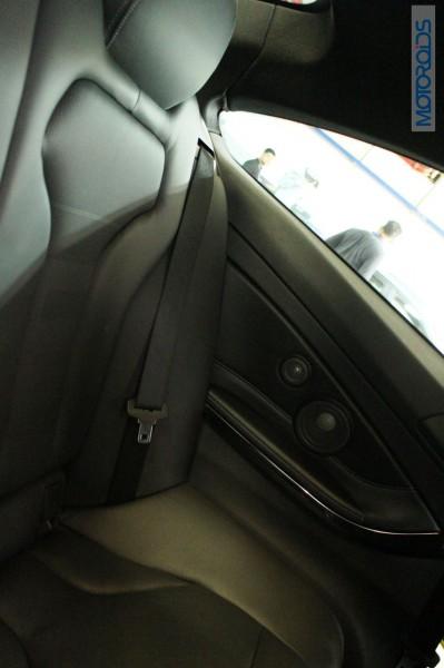 BMW M4 Rear Seat