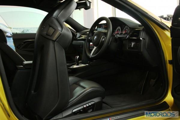BMW M4 interior (2)