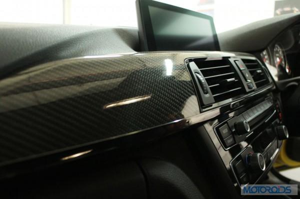 BMW M4 interior (4)