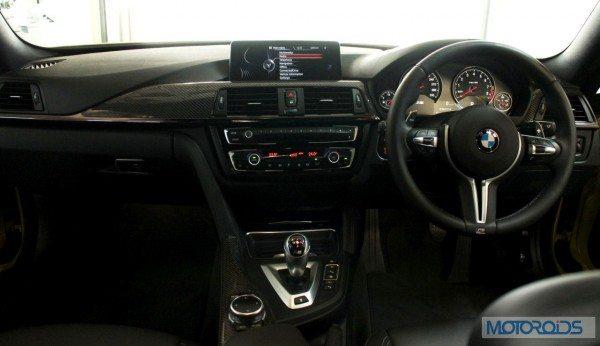 BMW M4 interior (6)