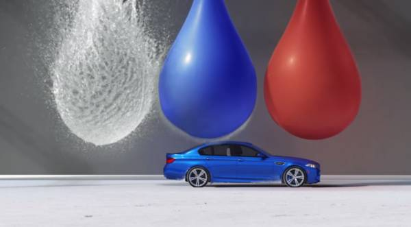 BMW M5 Bullet commercial2