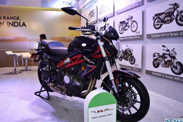 Benelli TnT300 India