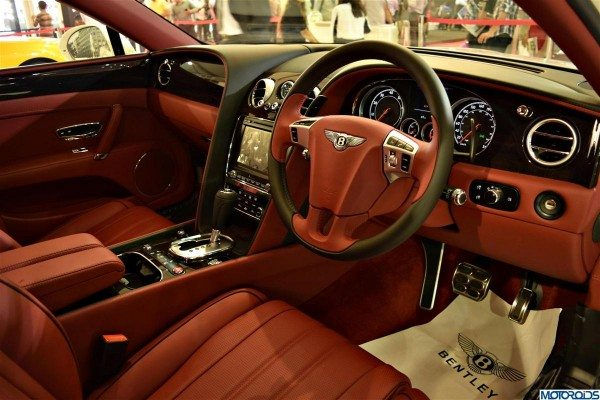 Bentley Continental Flying Spur V8 interiors