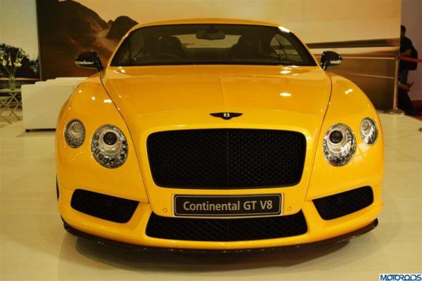 Bentley Continental GT V8 India (4)