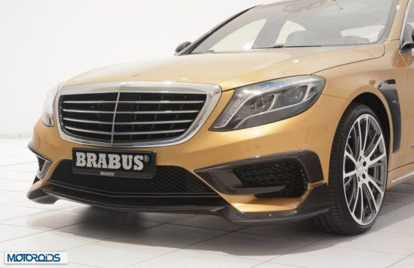 Brabus S63 AMG 850 satin gold (2)