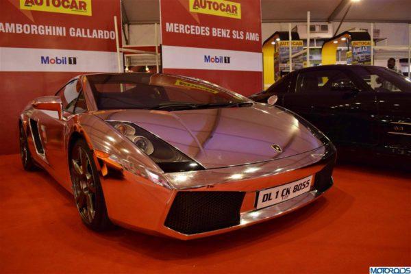 Chrome Lamborghini Gallardo India