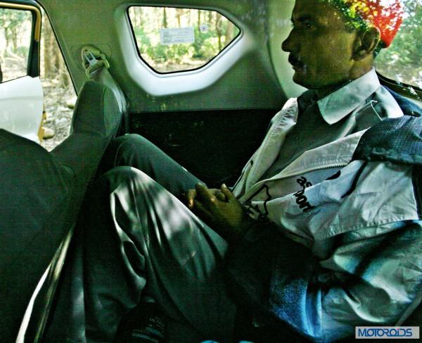 Datsun GO+3rd row passenger