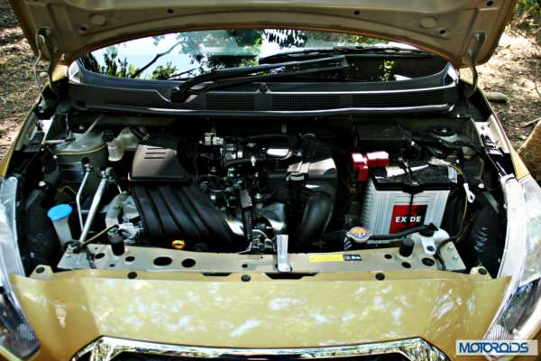 Datsun GO+engine