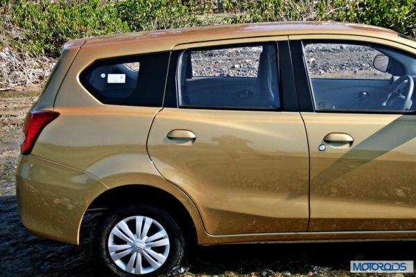 Datsun GO+extended rear