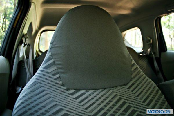 Datsun GO+front seat headrest