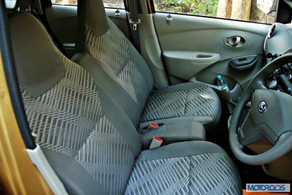 Datsun GO+front seats 2