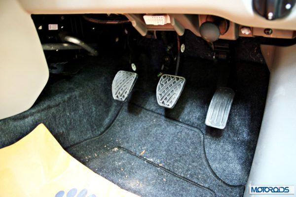 Datsun GO+pedals