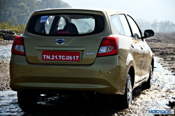 Datsun GO+rear right 2
