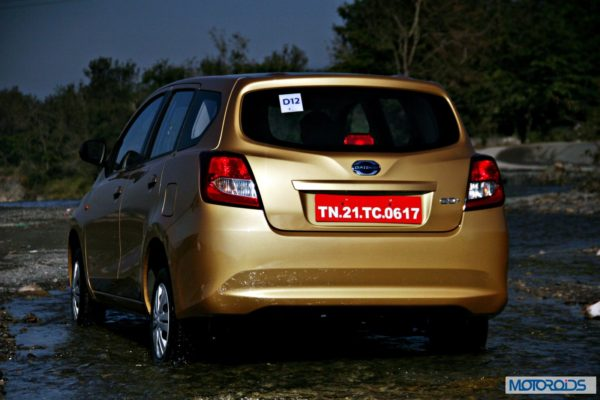Datsun GO+rear right