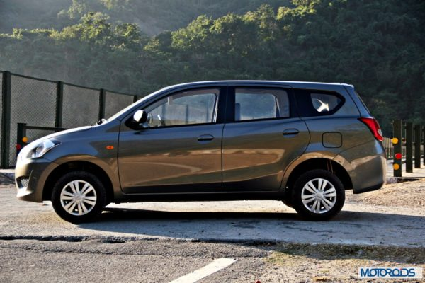 Datsun GO+side profile
